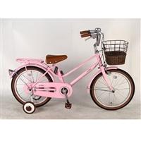 【自転車】【全国配送】《イーストボーイ》補助輪付き子供用自転車 キッズ 16インチ ピンク【別送品】