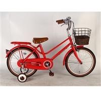 【自転車】【全国配送】《イーストボーイ》補助輪付き子供用自転車 キッズ 16インチ レッド【別送品】