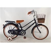 【自転車】【全国配送】《イーストボーイ》補助輪付き子供用自転車 キッズ 16インチ ネイビー【別送品】