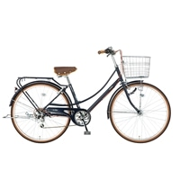 【自転車】【全国配送】《シナネン》軽快イーストボーイカジュアル外装6段オートライト 26インチ ブルー【別送品】