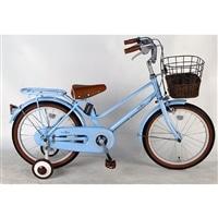 【自転車】【全国配送】《シナネン》イーストボーイキッズ 18インチ ブルー【別送品】