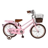 【自転車】【全国配送】《シナネン》イーストボーイキッズ 18インチ ピンク【別送品】