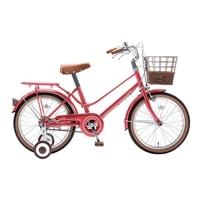 【自転車】【全国配送】《シナネン》イーストボーイキッズ 18インチ レッド【別送品】