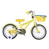 【自転車】【全国配送】《シナネン》新幹線 ドクターイエロー 16インチ【別送品】