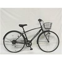 【自転車】クロスバイク CAVALLO 外装6段 27インチ ブラック G6HD【別送品】