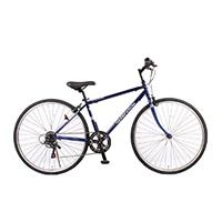 【数量限定・自転車】《シナネンサイクル》HCR276 クロスバイク27・6S スプレンテッドクロス WPC ブルー