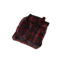 【数量限定】山善 USB着る毛布 YMS-USK50(BC) レッド