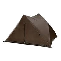 山善 パッとサッとテント CTW-MF15BR ブラウン