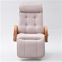 オットマン付回転座椅子レバー式