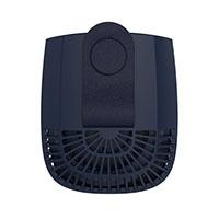エレス iFan BodyBlow アイファン ボディブロー 充電式ベルトクリップ付きパワフルモバイルファン IF-BB21 ネイビー