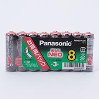 パナソニック ネオ黒単3-8Pお買得 R6PNB/8VSW