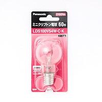 パナソニック ミニクリプトン電球 LDS100V54WCK