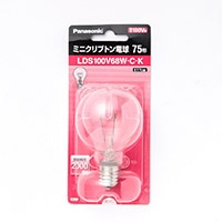 パナソニック ミニクリプトン電球 LDS100V68WCK