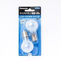 パナソニック ミニクリプトン電球 LDS110V36WWK2P