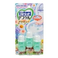 小林製薬 ブルーレットデコラル 心なごむ爽やかな森と花の香り 7.5g×3本