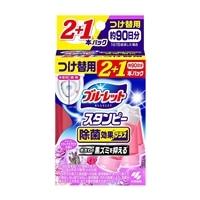 小林製薬 ブルーレットスタンピー除菌効果プラス 心なごむリラックスアロマの香り 28g×3本