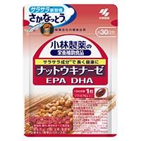 小林製薬の栄養補助食品 ナットウキナーゼ EPADHA 30粒