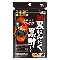 小林製薬 小林製薬の栄養補助食品 熟成黒にんにく黒酢もろみ 90粒