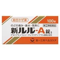 【指定第2類医薬品】第一三共 新ルルA錠S 100錠