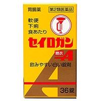 【第2類医薬品】セイロガン糖衣A36錠 剤形【;錠剤】