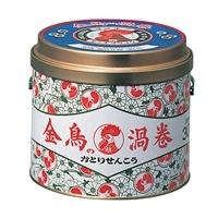 大日本除虫菊 金鳥の渦巻 30巻 缶入