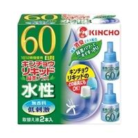 金鳥 水性リキッド 60日取替え 2本入り 緑茶