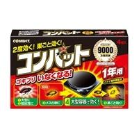 大日本除虫菊 金鳥 コンバット 1年用 4個入