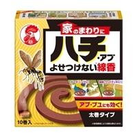 大日本除虫菊 KINCHO 家のまわりにハチ・アブよせつけない線香10巻