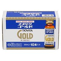 【第2類医薬品】チオビタゴールド 瓶30ml×10本