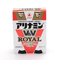 武田薬品 アリナミンV&Vロイヤル 2本