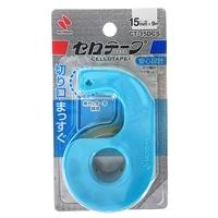 ニチバン セロテープ 小巻 15mm まっすぐきれるブルー
