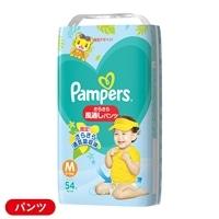 【店舗限定】P&G パンパース さらさらケア 風通しパンツ Mサイズ[6-11kg] スーパージャンボ 54枚