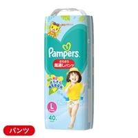【店舗限定】P&G パンパース さらさらケア 風通しパンツ Lサイズ[9-14kg] スーパージャンボ 40枚