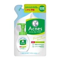 ロート製薬 メンソレータムアクネス 薬用ふわふわな泡洗顔 つめかえ用 140ml