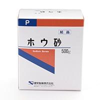 部外品 健栄製薬 ホウ砂P結晶 500g