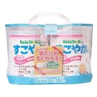 雪印ビーンスターク 乳児用粉ミルク すこやかM1 大缶 800g×2缶パック