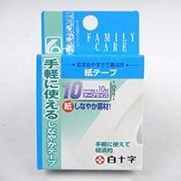 白十字 ファミリーケア FC紙テープ 10mm幅×10M