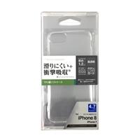 iPhone8TPUソフトケース1.2mmクリア