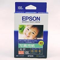 エプソン 写真用紙 光沢 L判 100枚 KL100PSKR