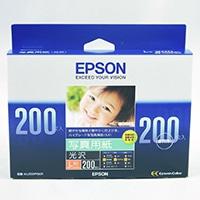 エプソン 写真用光沢紙L判 200枚KL200PSKR