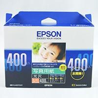 エプソン写真用紙L判400枚 KL400PSKR
