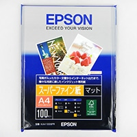 エプソン ファイン紙 A4 100枚 KA4100SFR