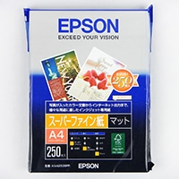 エプソン ファイン紙 A4 250枚 KA4250SFR