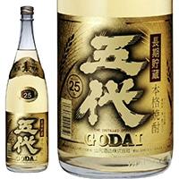 五代 麦 長期貯蔵酒 25度 1800ml【別配送】
