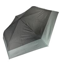 雨晴兼用 完全遮光 超撥水自動開閉折傘 55cm ブラック×グレー