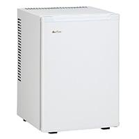 三ツ星貿易 40L 寝室用冷蔵庫 ML-640W【別送品】