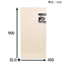 【SU】メラミン化粧棚板ホワイト900×450×16【別送品】
