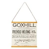 【trv・数量限定】ゴックスヒル タペストリーアイボリー GD−1255IV