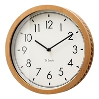 【trv・数量限定】掛け時計 コービッシュ スウィープムーヴ CL−2555WH