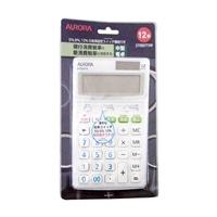オーロラ 電卓 新税率表示 DT650TXW